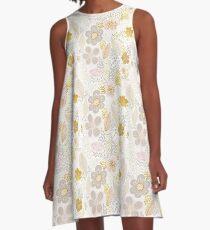 Secret Garden Pastel A-Line Dress