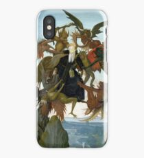 "Michelangelo ""The Torment of Saint Anthony"", 1487-1488 iPhone Case"