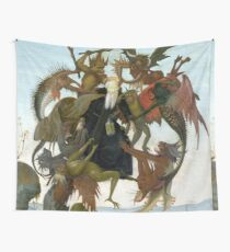 """Michelangelo """"The Torment of Saint Anthony"""", 1487-1488 Wall Tapestry"""