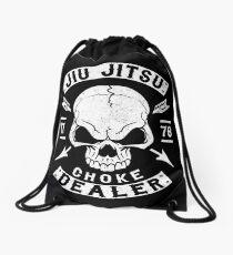 JIU JITSU - CHOKE DEALER Drawstring Bag