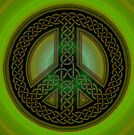 Celtic Knot of Peace by Carrie Dennison
