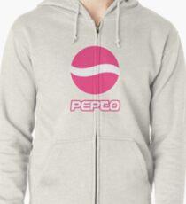 Pepto Zipped Hoodie