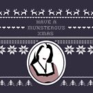 Spooky Xmas - Lily Munster by MogPlus