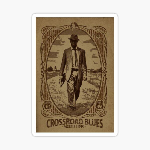 Crossroad Blues Pegatina