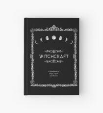 Cuaderno de tapa dura Brujería Un manual de hechizos y pociones mágicas