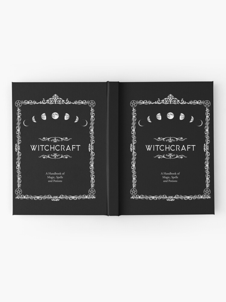 Alternate view of Witchcraft A Handbook of Magic Spells and Potions Hardcover Journal