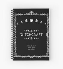 Witchcraft A Handbook of Magic Spells and Potions Spiral Notebook