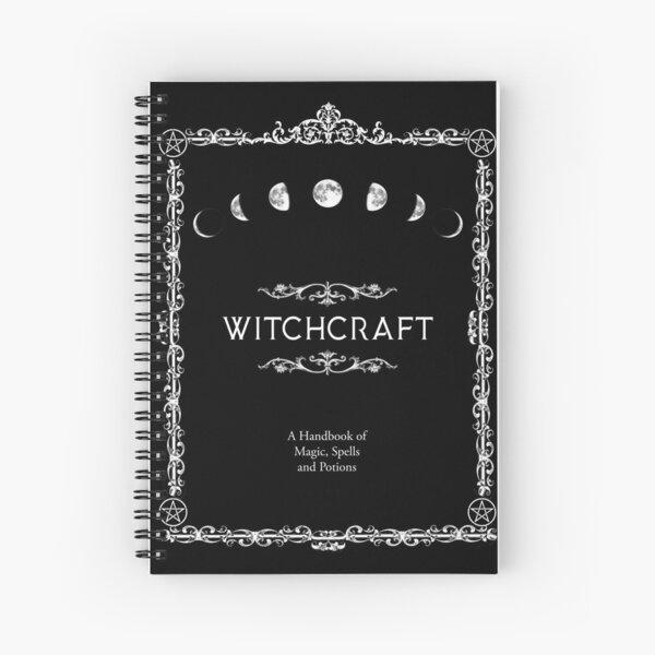 Sorcellerie Un manuel de sorts et potions magiques Cahier à spirale