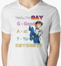 Yeah, Im G.A.Y. Men's V-Neck T-Shirt