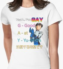 Yeah, Im G.A.Y. Women's Fitted T-Shirt