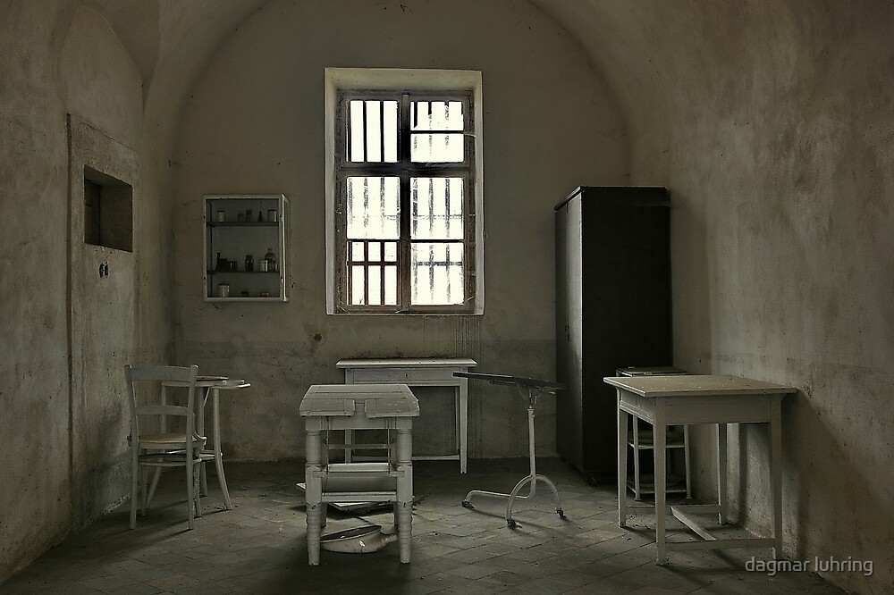 gynaecological surgery in concentration camp in Terezin by danapace
