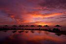 Poolside Sundowner by Kasia-D