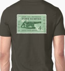 POSTAGE STAMP, FORT SUMTER, 1864 - 1964, Grand Army of the Republic, Union, United Confederate Veterans T-Shirt