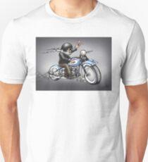 MOTORCYLE HARLEY STYLE  Unisex T-Shirt
