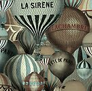 Vintage Hot Air Balloon by mindydidit