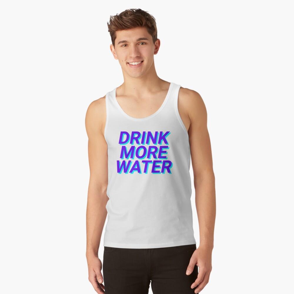 trinke mehr Wasser Tank Top