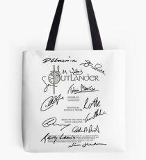 Outlander Script Tote Bag