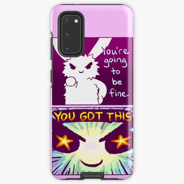 """""""YOU GOT THIS"""" Bunny Comic Samsung Galaxy Tough Case"""