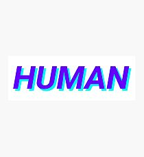 human Photographic Print
