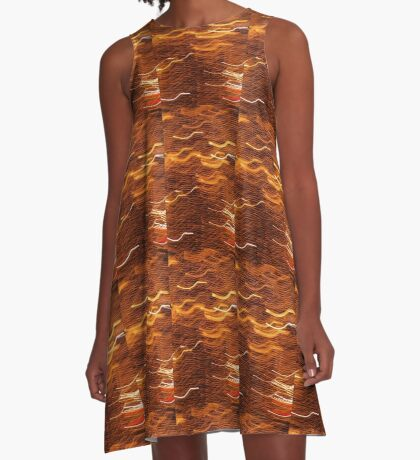 Good Vibrations A-Line Dress