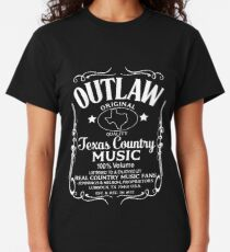 Original Texas Country Music Outlaws T Shirt Classic T-Shirt