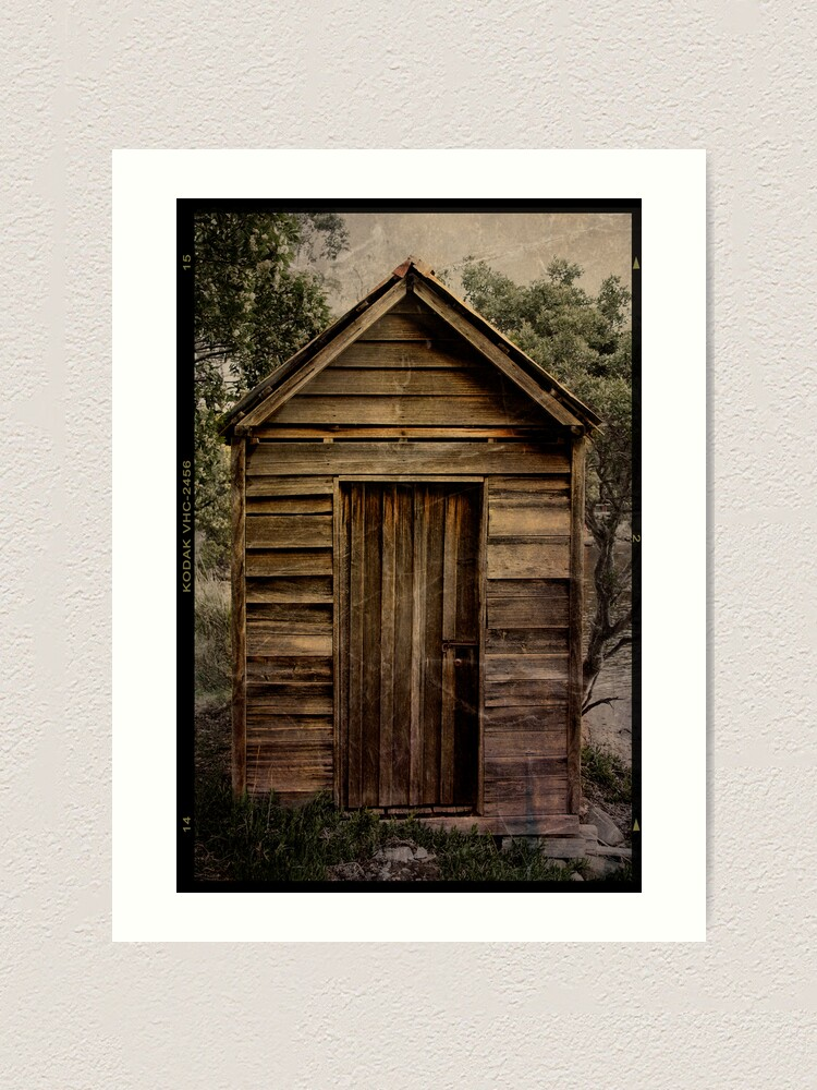 Alternate view of Little Shed Art Print