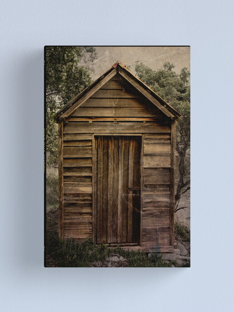 Alternate view of Little Shed Canvas Print