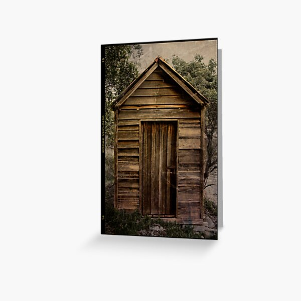 Little Shed Greeting Card