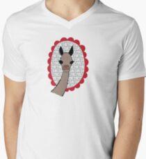 Fa La La Llama Men's V-Neck T-Shirt