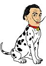 Salvador Dalmatian by Ryan Jardine (Pretty Weird)
