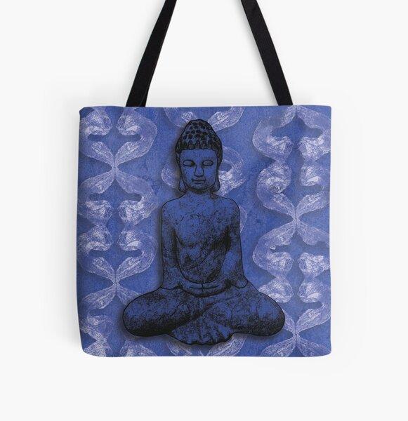 Water Buddha All Over Print Tote Bag