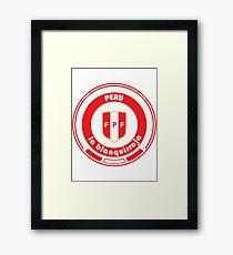 Football - Team Peru Framed Print