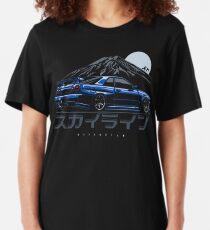 Skyline GTR R34 Slim Fit T-Shirt