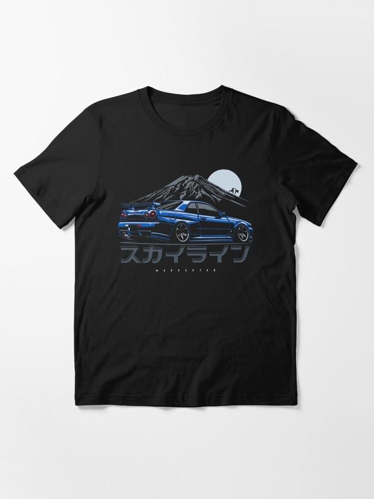 Alternate view of Skyline GTR R34 Essential T-Shirt