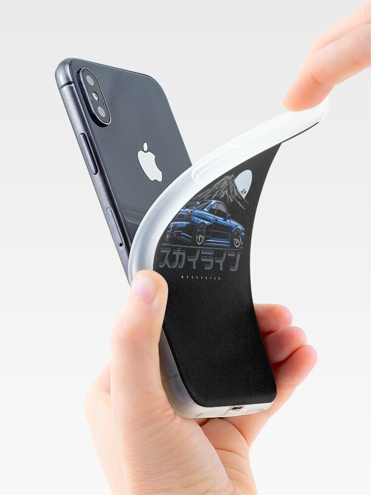 Alternative Ansicht von Skyline GTR R34 iPhone-Hüllen & Cover