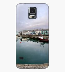 Hurry Head Harbour, Carnlough, County Antrim Case/Skin for Samsung Galaxy
