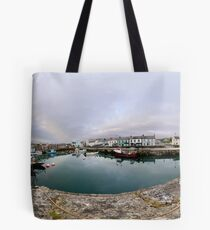 Hurry Head Harbour, Carnlough, County Antrim Tote Bag