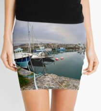 Hurry Head Harbour, Carnlough, County Antrim Mini Skirt