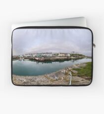 Hurry Head Harbour, Carnlough, County Antrim Laptop Sleeve