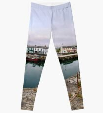 Hurry Head Harbour, Carnlough, County Antrim Leggings