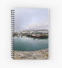 Hurry Head Harbour, Carnlough, County Antrim Spiral Notebook