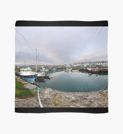 Hurry Head Harbour, Carnlough, County Antrim Scarf