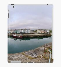 Hurry Head Harbour, Carnlough, County Antrim iPad Case/Skin