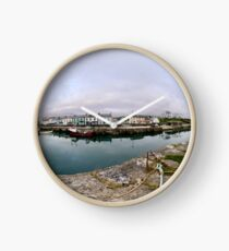 Hurry Head Harbour, Carnlough, County Antrim Clock