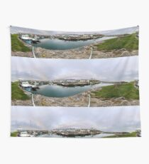 Hurry Head Harbour, Carnlough, County Antrim Wall Tapestry