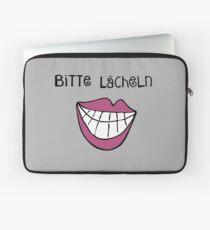 Bitte Lächeln  Laptoptasche
