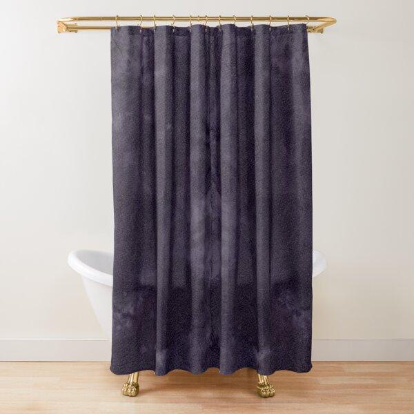 DappledNight DyeBlot Shower Curtain