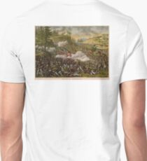 Civil War, Battle of Chickamauga, Confederate victory held off Union offensive for two months.  T-Shirt