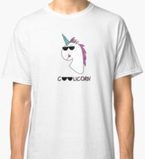 Das Coolicorn - die Coole Version des Einhorns Classic T-Shirt