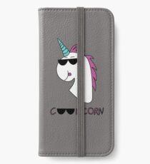 Das Coolicorn - die Coole Version des Einhorns iPhone Flip-Case/Hülle/Skin